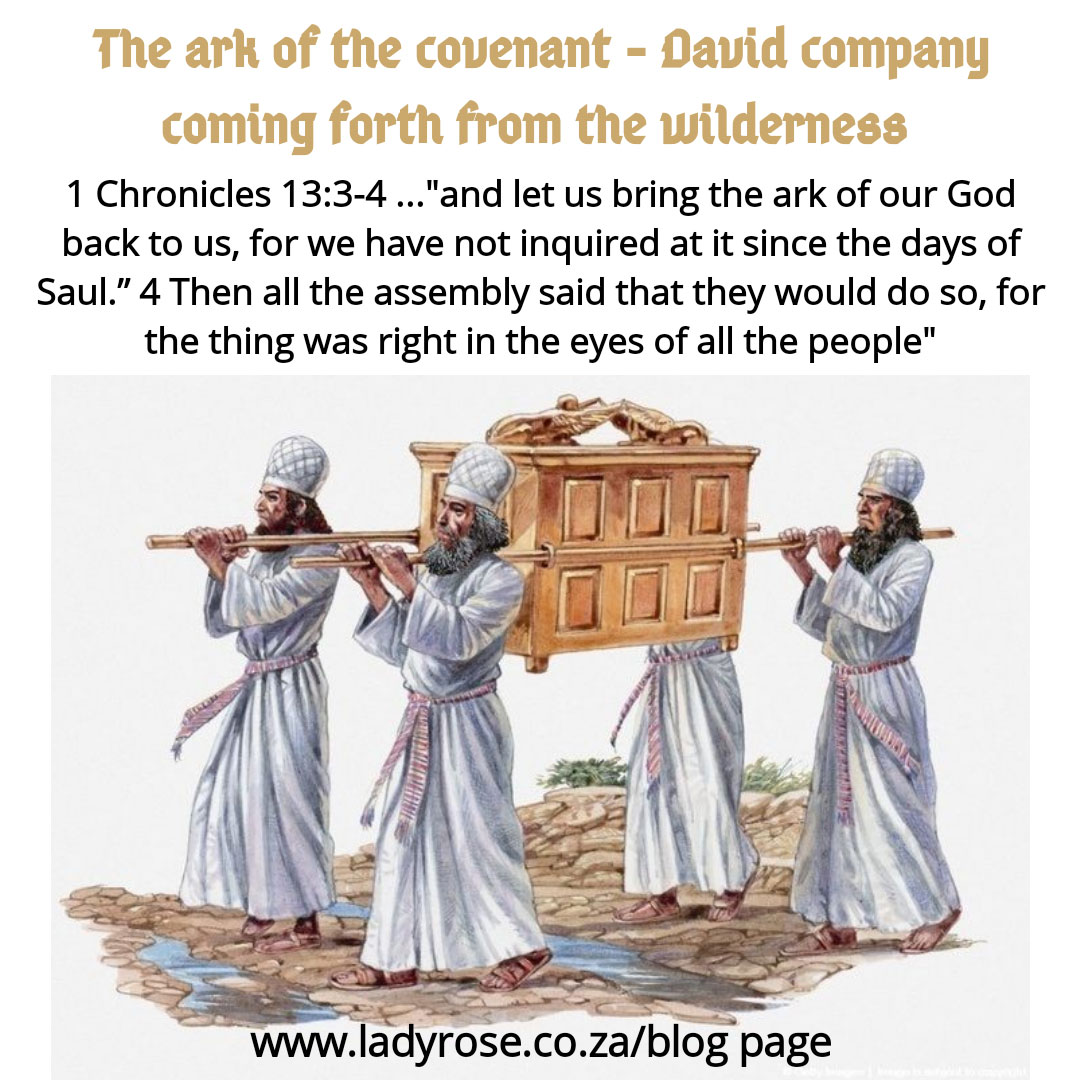 Ark of the Covenant – David's arising and coming forth