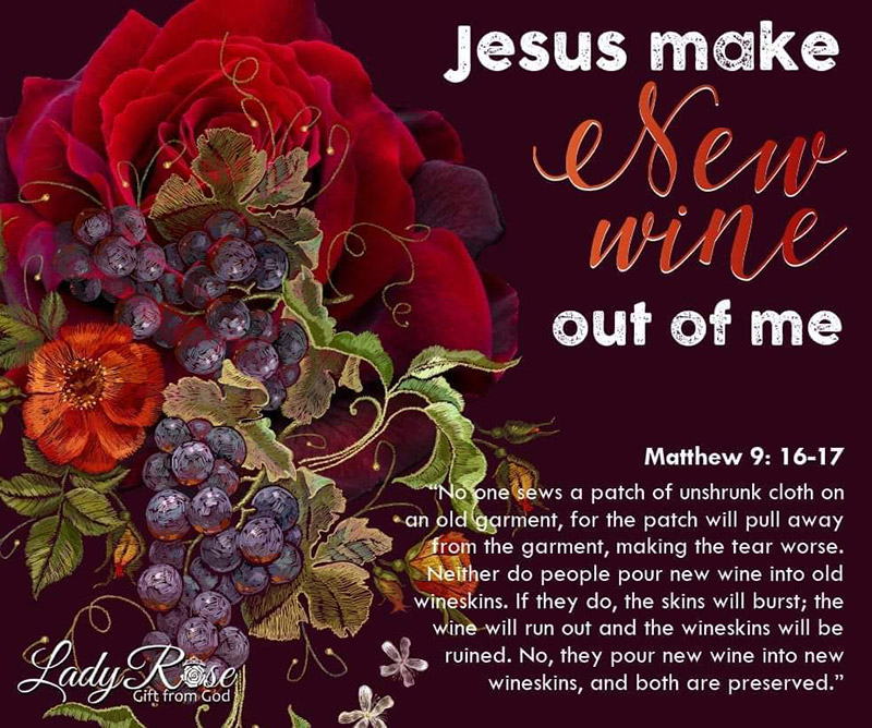 Jesus Make New Wine Out Of Me